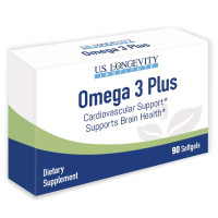 Omega 3 Plus- 90 Softgels UL_1332040_1